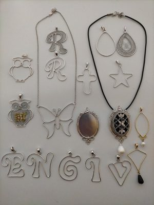 Strutture in Argento per Merletti (Silver_Structures_for_Lace)